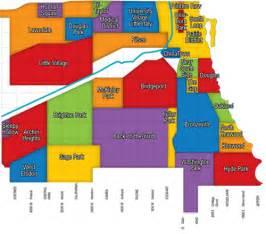 South Neighborhoods Chicago Neighborhood Map Town Realty