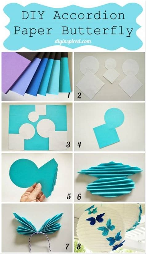 How To Make Paper Butterfly Wings - best 20 paper butterflies ideas on