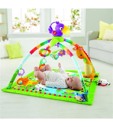 Fisher Price Rainforest Music Lights Deluxe Gym