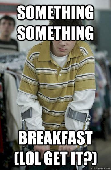 Walt Jr Meme - something something breakfast lol get it walter jr