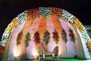 Beautiful Flower Decoration by Beautiful Wedding Set Up Wedding Bells