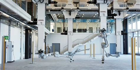 arch lab architects arch tec lab is a test bed for robotic fabrication in