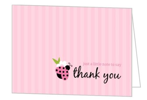 Free Thank You Card Templates Baby Shower by Free Baby Shower Thank You Cards With Photo Anouk