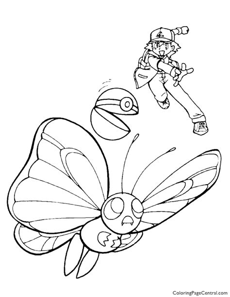 ash leaf coloring page images ash leaf coloring page coloring coloring pages