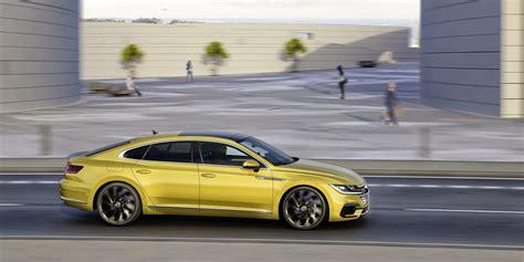 new volkswagen arteon new 2018 vw arteon four door coupe is the cc s more