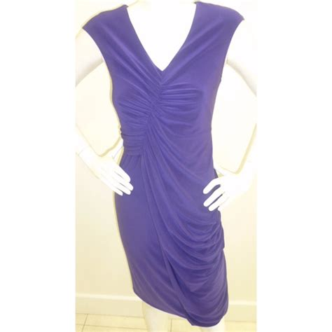 joseph ribkoff purple ruched dress 22012 buy joseph