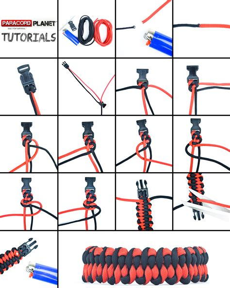 printable instructions on how to make a paracord bracelet paracord bracelet tutorial on the dragon s tongue