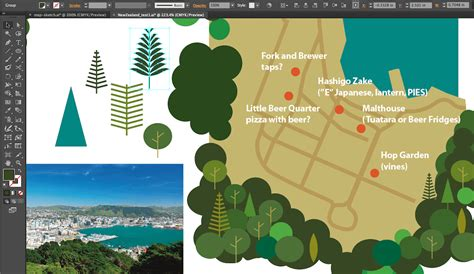 how to make doodle in illustrator the of illustrated maps in the era of earth