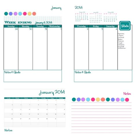 daily calendar template 2014 2014 free printable daily planner calendar