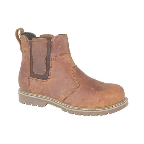 Sepatu Murah Timberland Stallion High Safety Boots amblers abingdon casual dealer brown mens boots charnwood