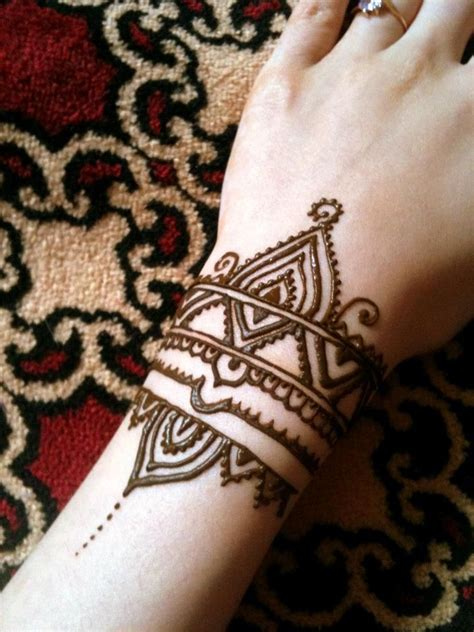 henna tattoo bracelet designs henna style wrist ideas