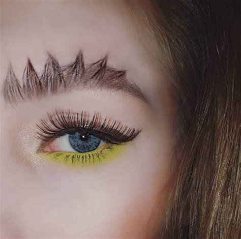 with eyebrows 8 craziest eyebrow trends oddee