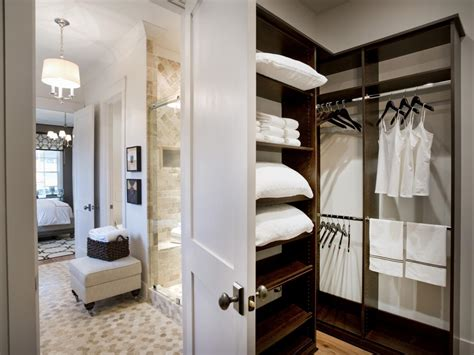 closet in bathroom photos hgtv