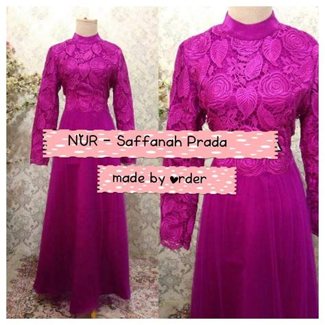 saffanah prada gown galeri ayesha jual baju pesta modern syar i dan stylish untuk keluarga