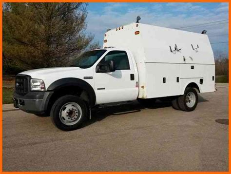 ford service truck ford f550 enclosed service truck 2006 utility