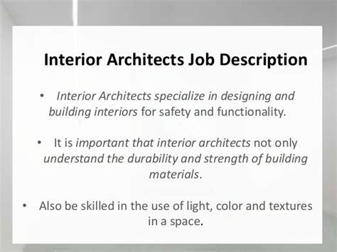interior design job meaning interior architect drawing
