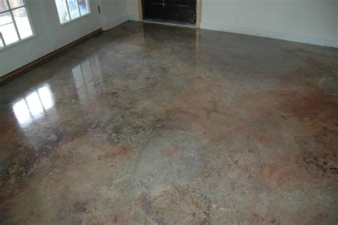 cement floor lightly sand cement wash thoroughly dilute based paint small rustoleum with