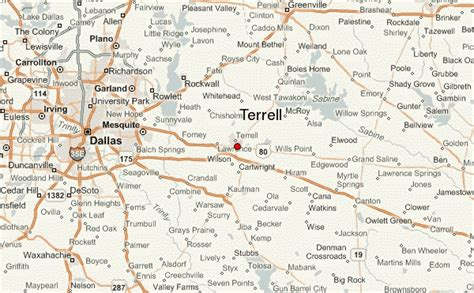 terrell county texas map terrell location guide