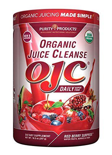 Detox 10gram certified organic juice cleanse ojc plus berry 12 28 oz 348 g