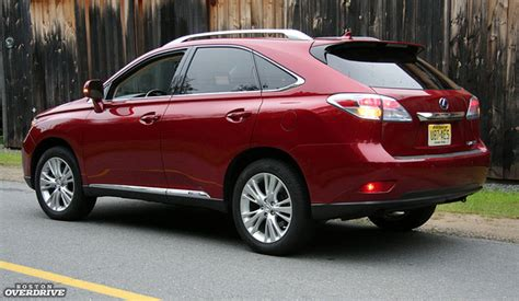 Lexus Rh450 2011 Lexus Rx 450h Hybrid Or Not It S Plush All The Way