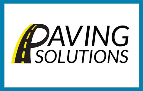 Paving Logo Paving Solutions Right Eye Graphics