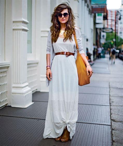 estilodf 187 161 luce fresca y chic con un maxi vestido