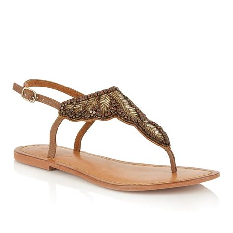 where to buy sandals buy ravel langlois flat sandals in beige