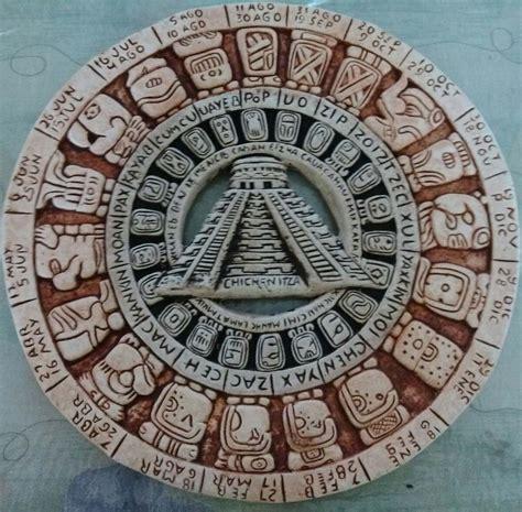 Calendario Azteca Original Calendario Azteca En Hueso 100 Original 399 00