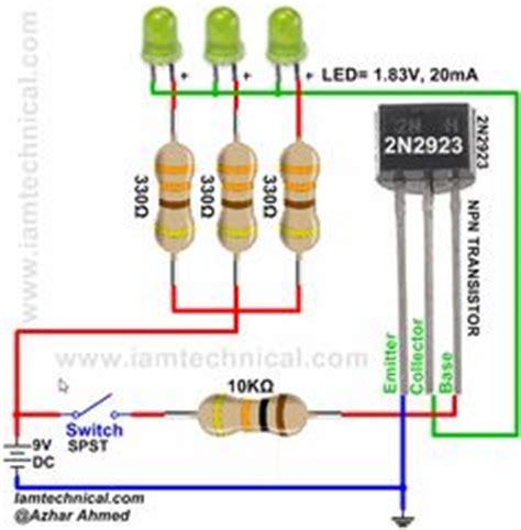 persamaan transistor pnp dan npn npn transistor 2n3391 as a switch iamtechnical npn transistor as a switch