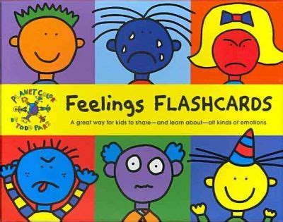 feelings ii flashback books todd parr feelings flash cards todd parr 9780811871457