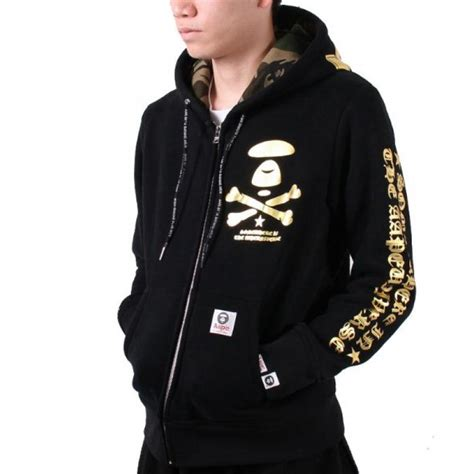 Lettering Hooded Jacket new aape gilt letters hooded jacket buy aape