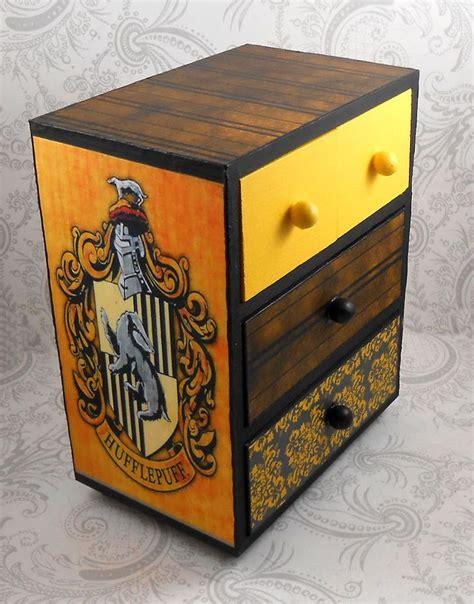 black jewelry box armoire custom hufflepuff black and yellow hogwart s house harry