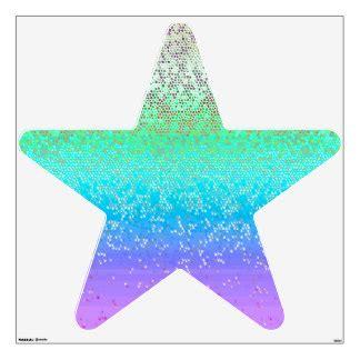 Syari Glitt 1 glitter wall decals wall stickers zazzle