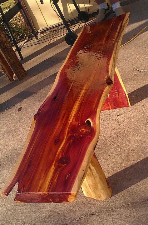 Handmade Cedar Furniture - rustic handmade cedar bench benches