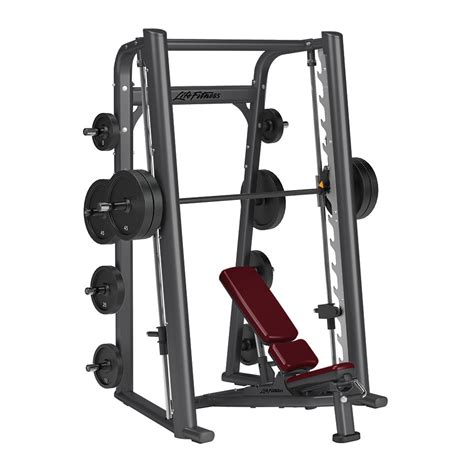 Alat Fitness Smith Machine fitness signature smith machine used fitness equipment