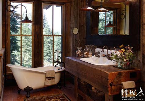 Cottages Near Bath With Tub by Fashioned Rustic Bathroom Clawfoot Tub Reclaimed