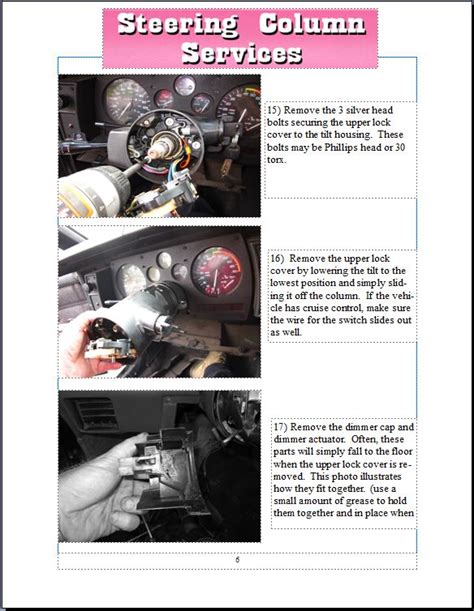electric power steering 1994 chevrolet caprice head up display tilt wheel steering columns bob chevy trucks 1957 1959 gmc wiring diagram library