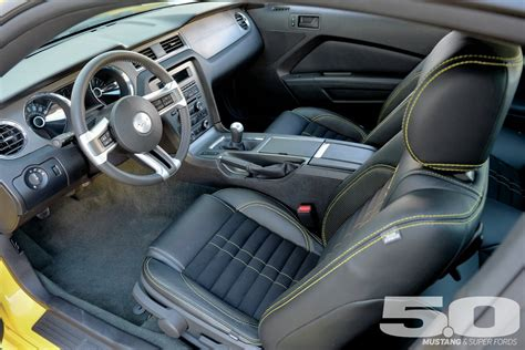 ford mustang upholstery 2014 ford mustang gt front side view photo 61197449