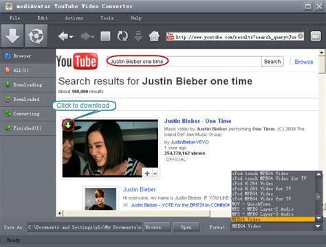 download youtube xvid how to download and convert youtube flv to mp4 mov wmv mp3