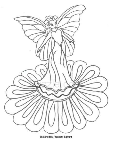 8 images of water fairies coloring pages silver mist