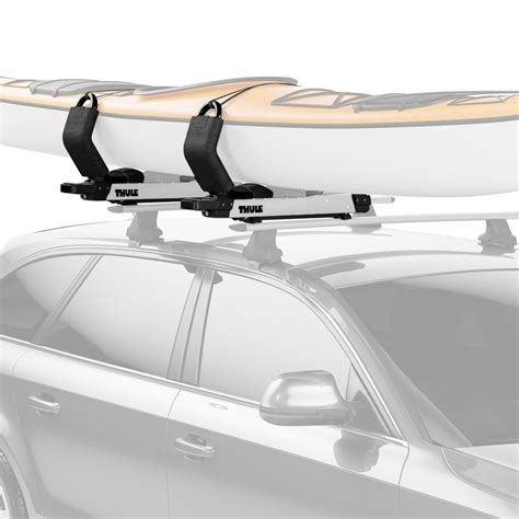 Hullavator Kayak Rack by Thule 174 Toyota Highlander 2014 2018 Hullavator Pro Lift Assist Kayak Carrier