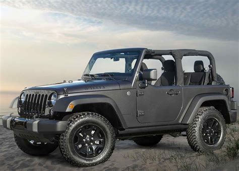 Jeep Mpg 2014 Jeep Wrangler Willys Wheeler Edition Price Mpg