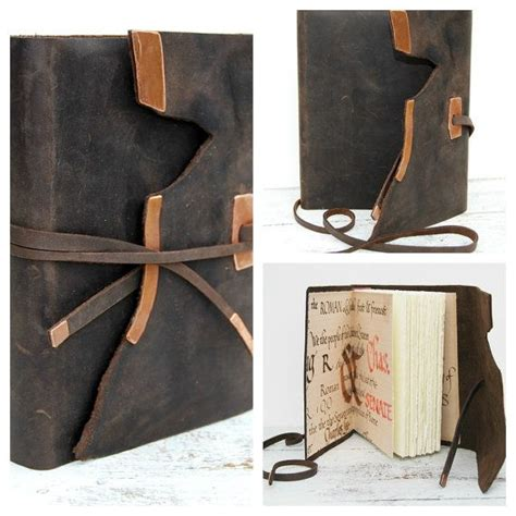 Handmade Leather Bound Books - 199 best images about book arts closures on