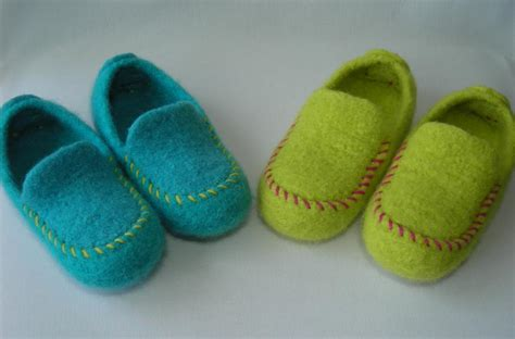 kid house shoes getting the feel for yarn felting