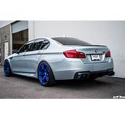 Silverstone BMW M5 With Blue Wheels &amp A Custom Exhaust