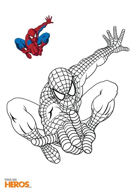 Coloriages Spiderman Gratuits Sur Le Blog De Tous Les H 233 Ros Coloriage Hulk L