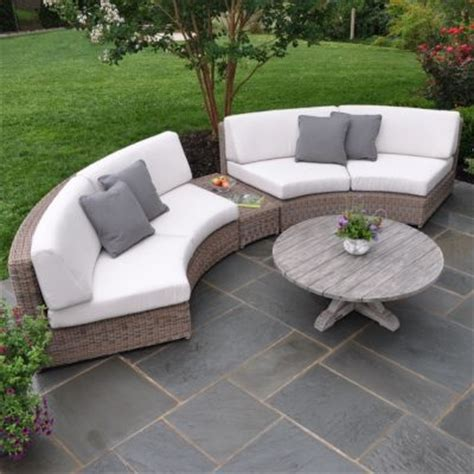 Curved Patio Furniture Set Casual Patio Furniture Sets Outdoor Patio Sets In Okemos Mi