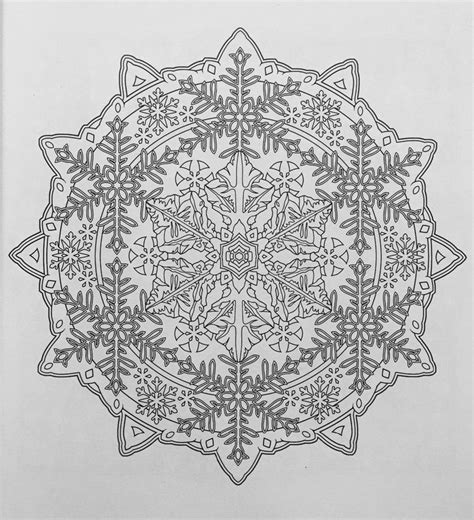 creative haven snowflake mandalas 17 best images about color mandalas on dovers book and snowflakes