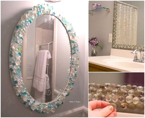 how wonderful are these diy bathroom mirror ideas