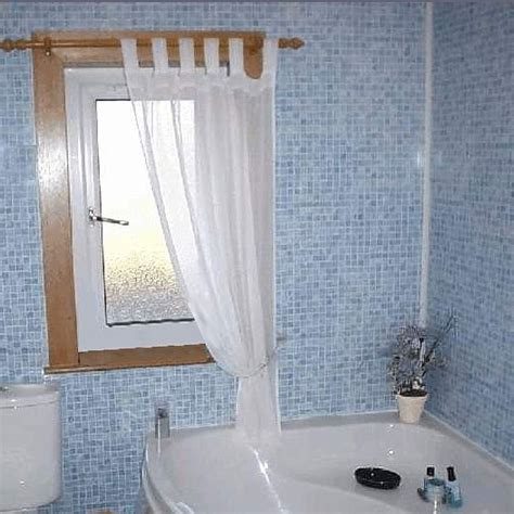 tiled panels bathroom mosaic blue tile effect panels from the bathroom marquee